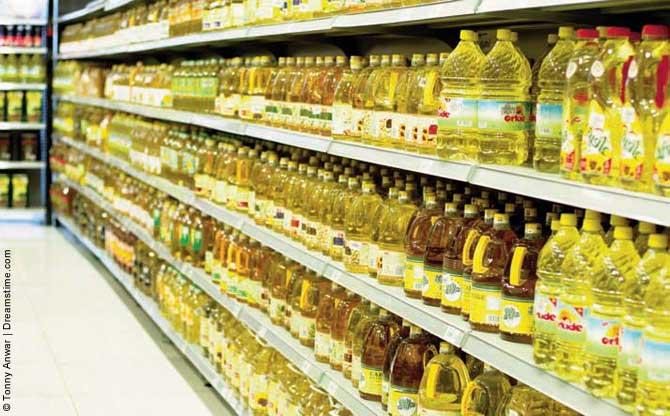 huile vegetale hydrogenee