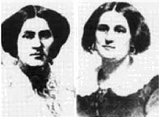 Margaret et Kate Fox