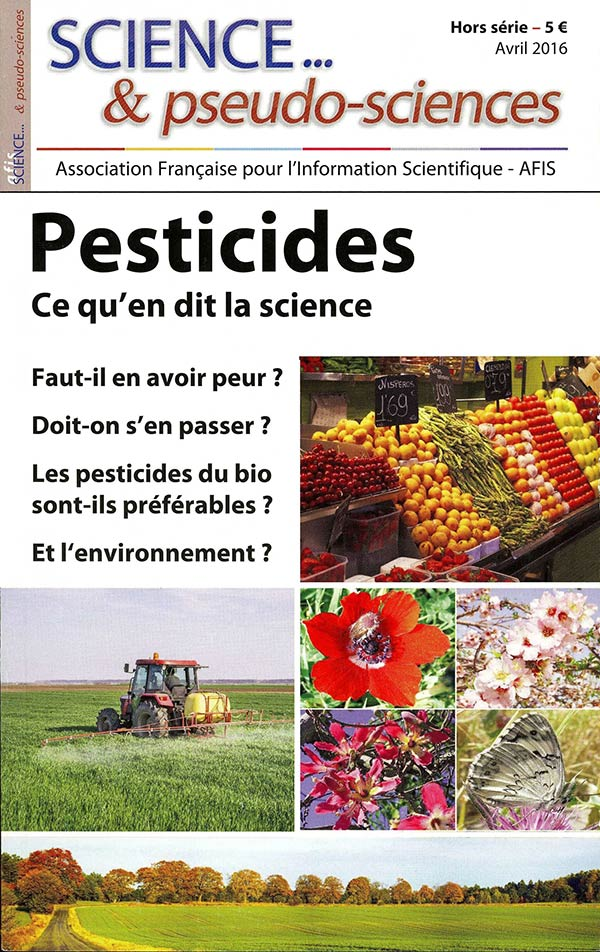 Couverture de la revue Science et Pseudo-sciences n° HS Pesticides