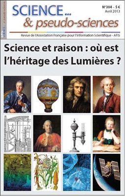 Science et pseudo-sciences, avril 2013