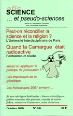 Science et Pseudo-sciences n° 244