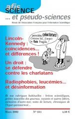 Science et Pseudo-sciences n° 251