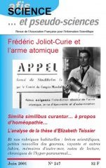 Science et Pseudo-sciences n° 247