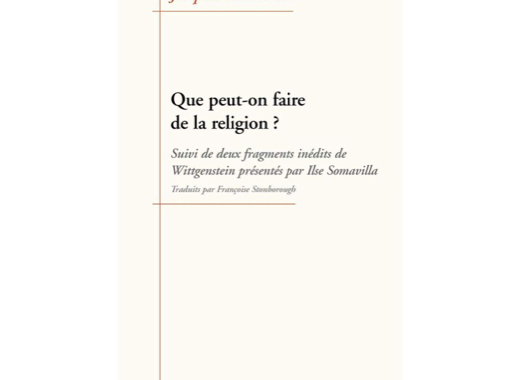 Que peut-on faire de la religion ?