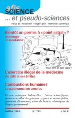Science et Pseudo-sciences n° 253