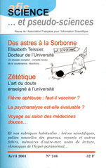 Science et Pseudo-sciences n° 246